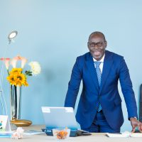 Alioune Ndiaye, patron de Sonatel, dakar, février 2017